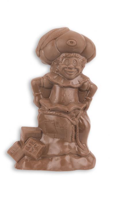 Piet met grote muts - holle chocolade melk